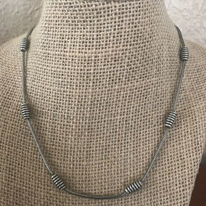 """Jewelry - Antique Silver Plated Necklace 16"""""""